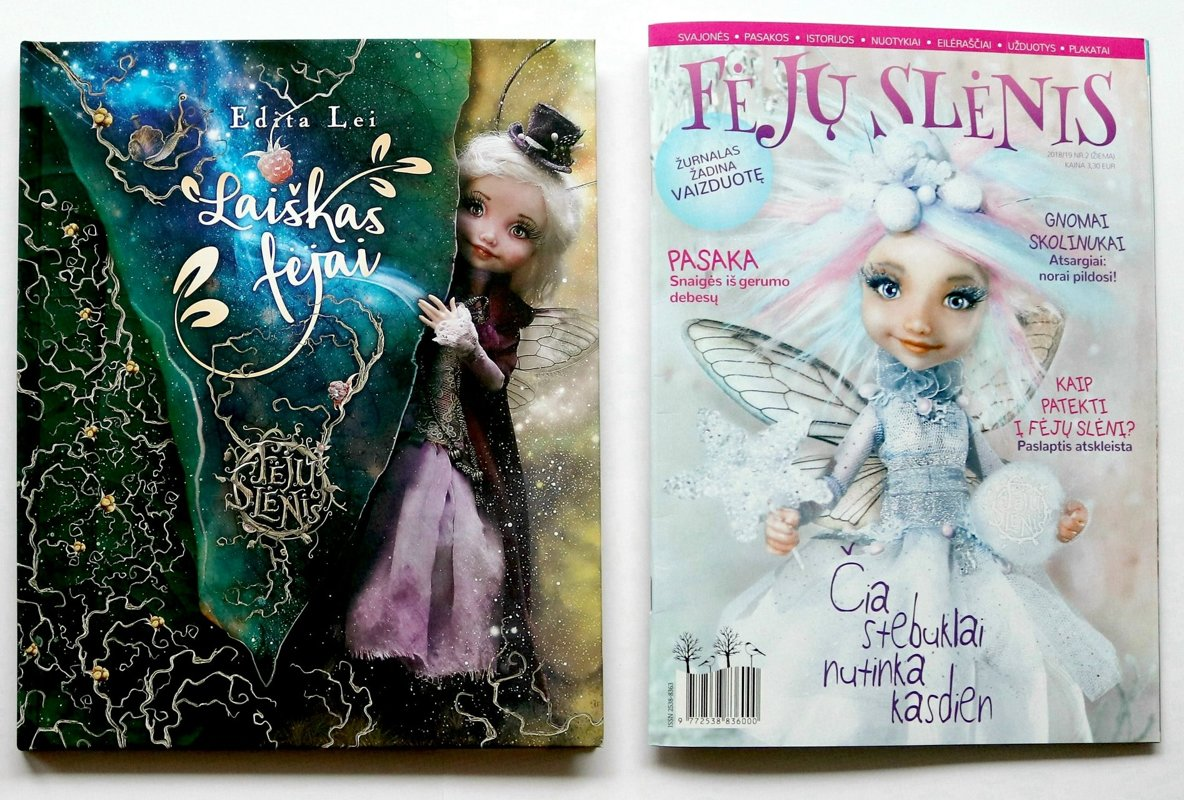 Knyga ''Laiškas fėjai'' ir Žurnalas NR.2