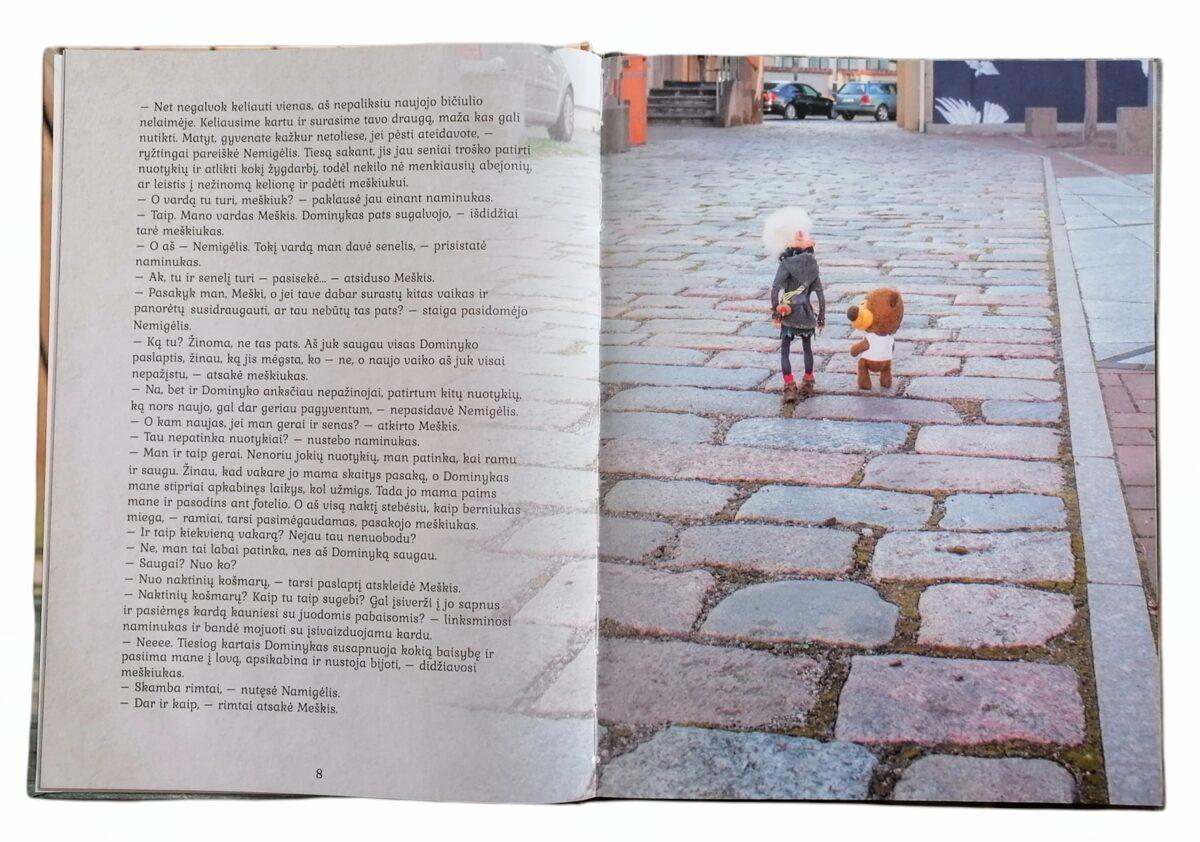 """Knyga 2 dalis ,,Naminukas Nemigėlis ir pliušiniai draugai"""""""