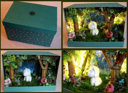"""Pasaka dėžutėje ,, Užburtas miškas"""""""