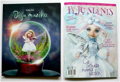 Knyga ,,Fėjų muzika,,  Žurnalas  NR.2