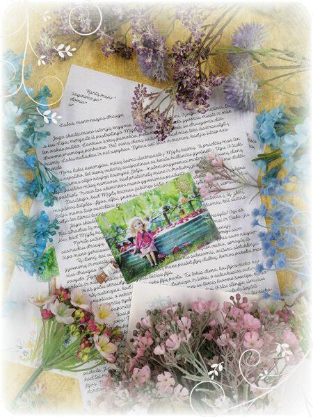 Laiškas nuo mergaitės Lėjos