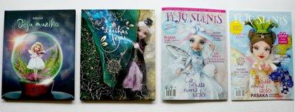 Rinkinys, dvi knygos ir du žurnalai. NR.1 Ir NR.2