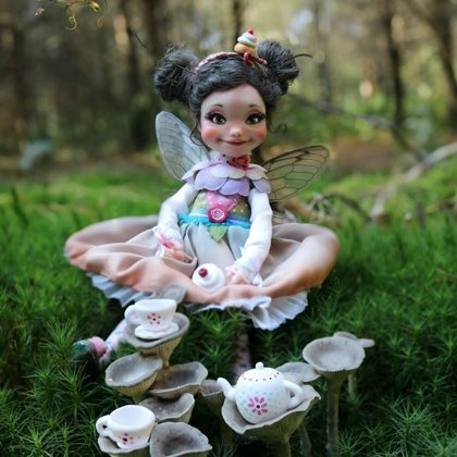 fairy of Cupcakes doll